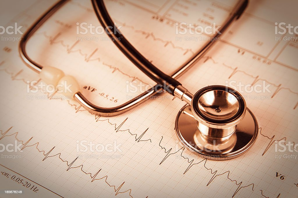 Heartbeat royalty-free stock photo