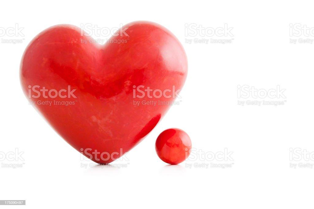 Heart....Full Stop stock photo