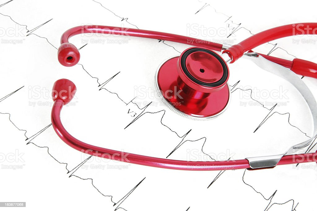Heartrate stock photo