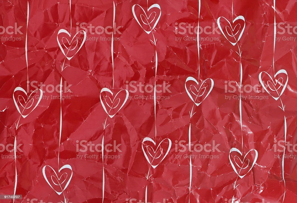 Hearts and arrows royalty-free stock photo