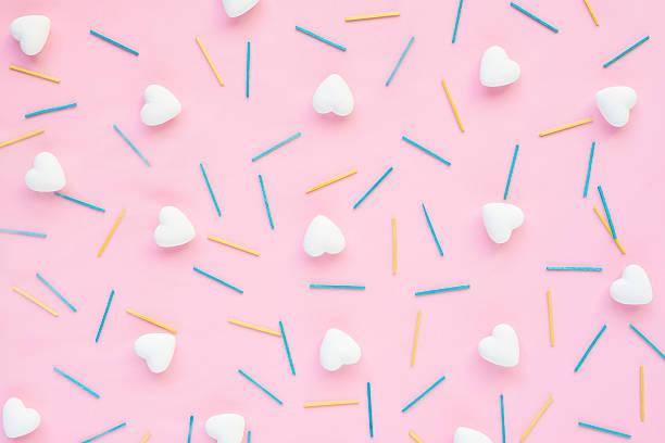 Hearts and matches - foto de acervo