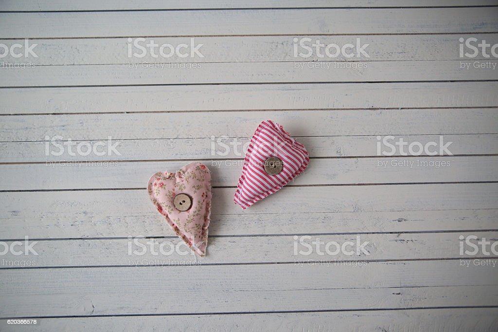 hearts as a symbol of St. Valentine's day zbiór zdjęć royalty-free