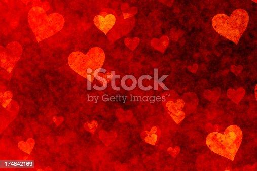istock Hearts Background 174842169