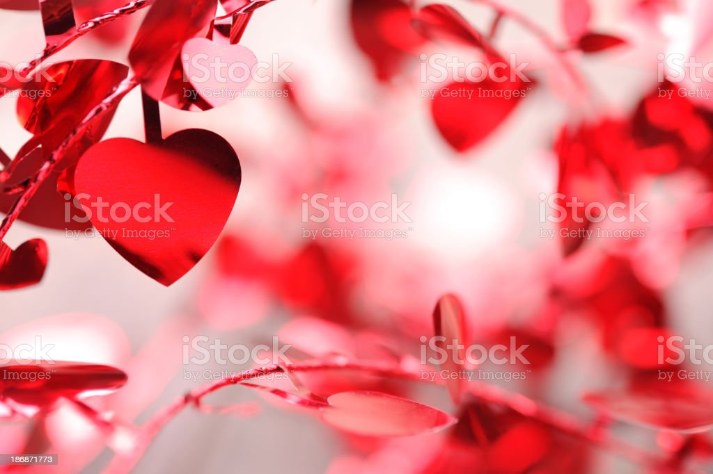 Hearts background royalty-free stock photo