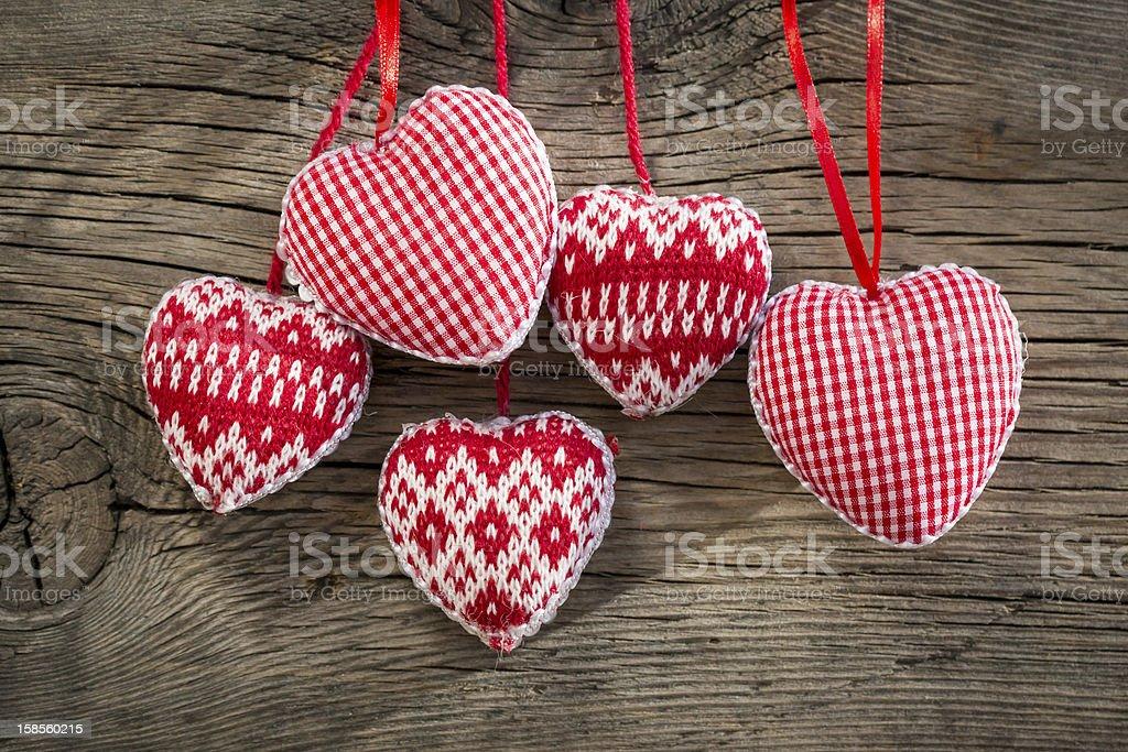 Hearts on 압살했다 배경의 royalty-free 스톡 사진