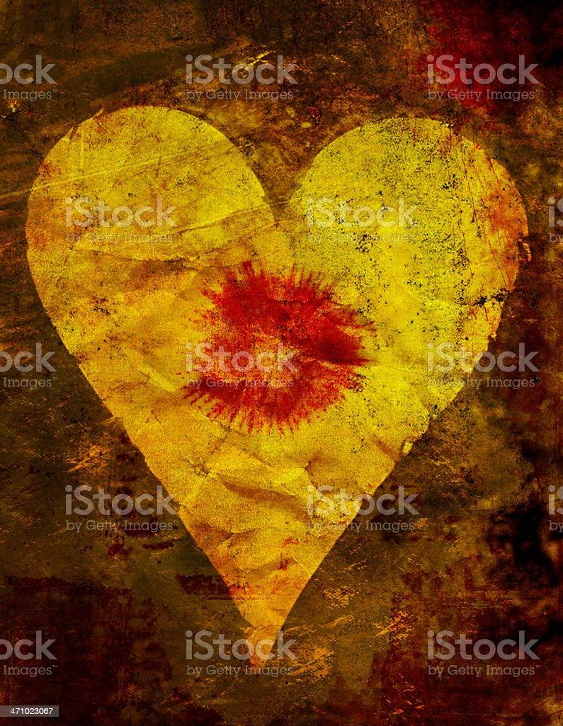 Hearts: Whole royalty-free stock photo