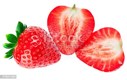 istock Heart-shaped strawberries 479031083