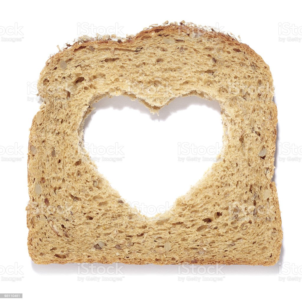 Hearty bread - Royalty-free Aşk Stok görsel