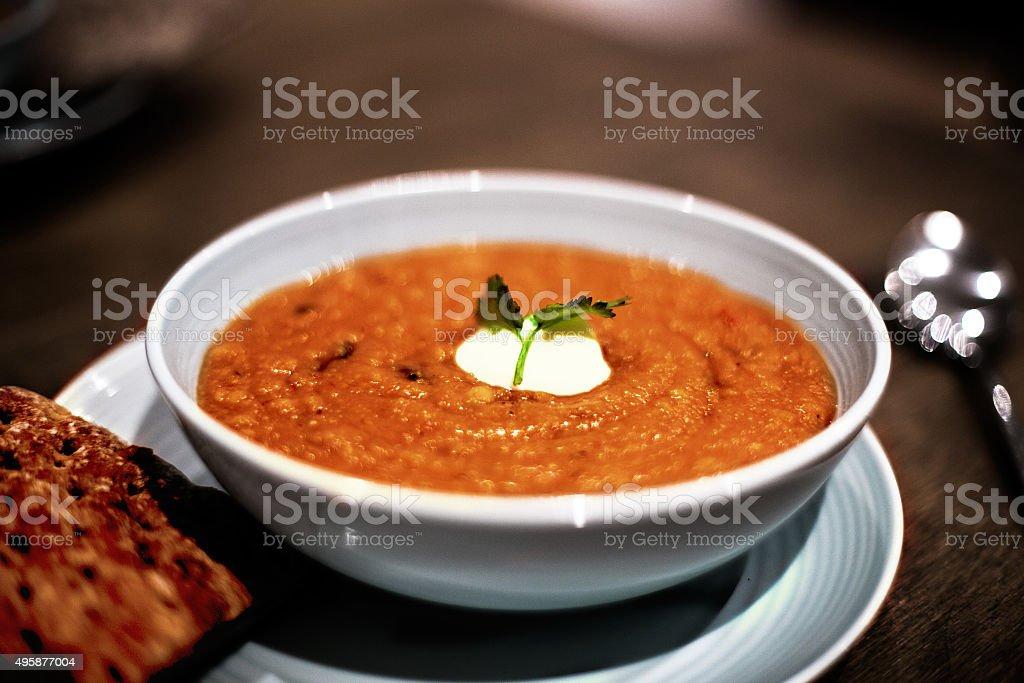 Herzhafte Winter-Suppe – Foto