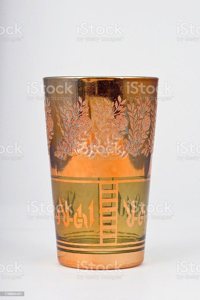 heat glass of tea royalty-free stock photo