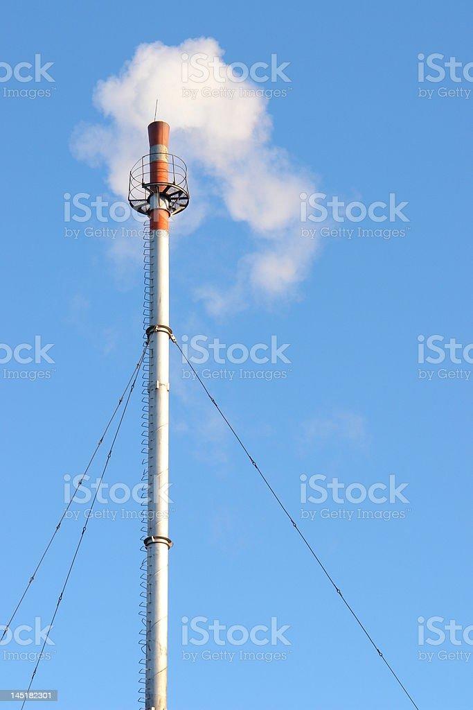 Heat power royalty-free stock photo