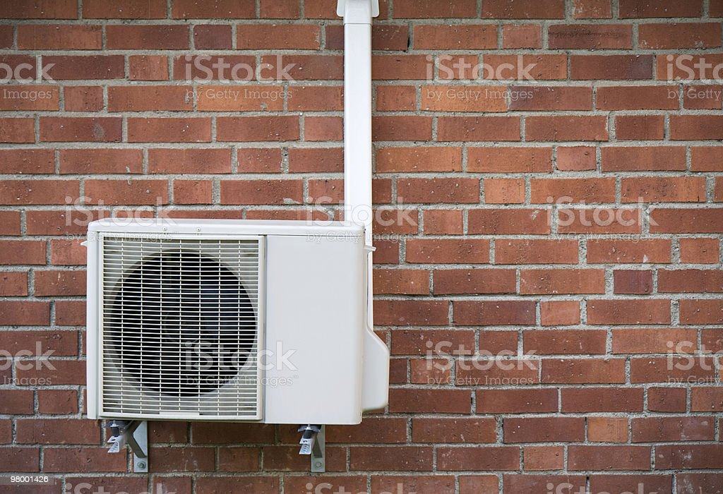 Heat pump royalty free stockfoto