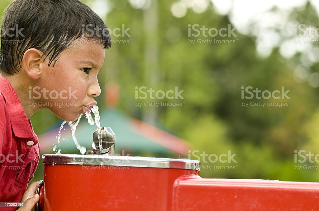 heat relief stock photo