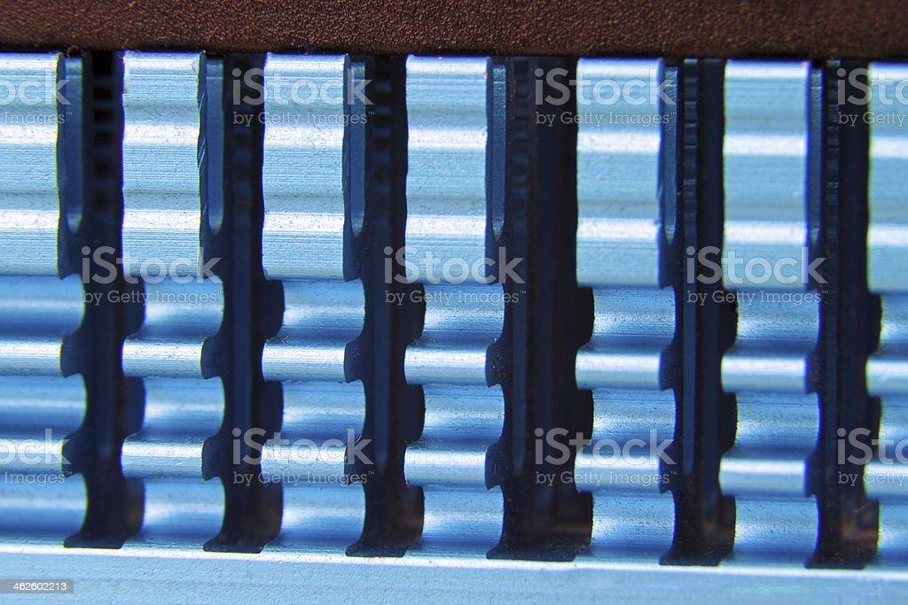 Heat sink 4 stock photo