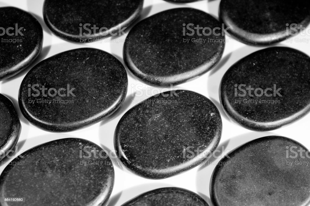 Heat Stones royalty-free stock photo