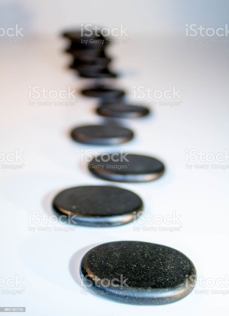 Heat Stones royalty-free stock photo