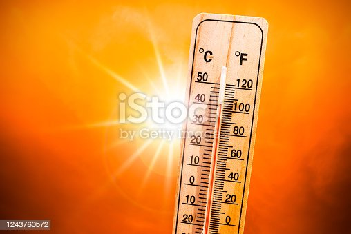 istock Heat wave concrept 1243760572