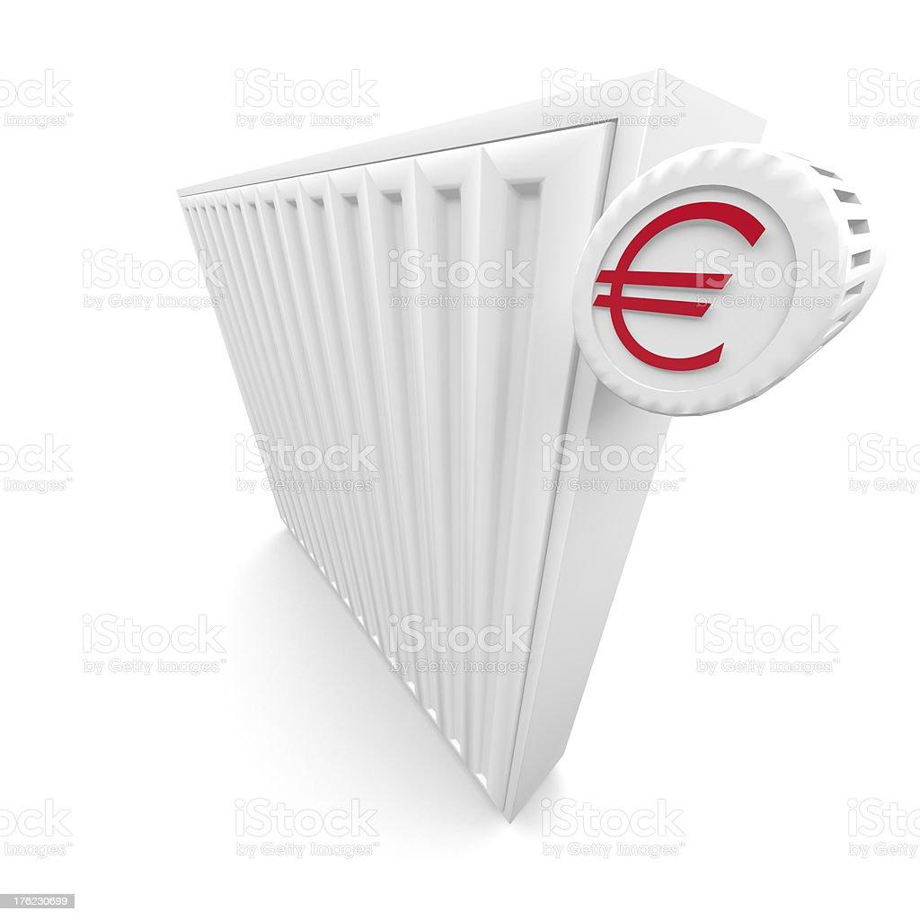 Heater royalty-free stock photo