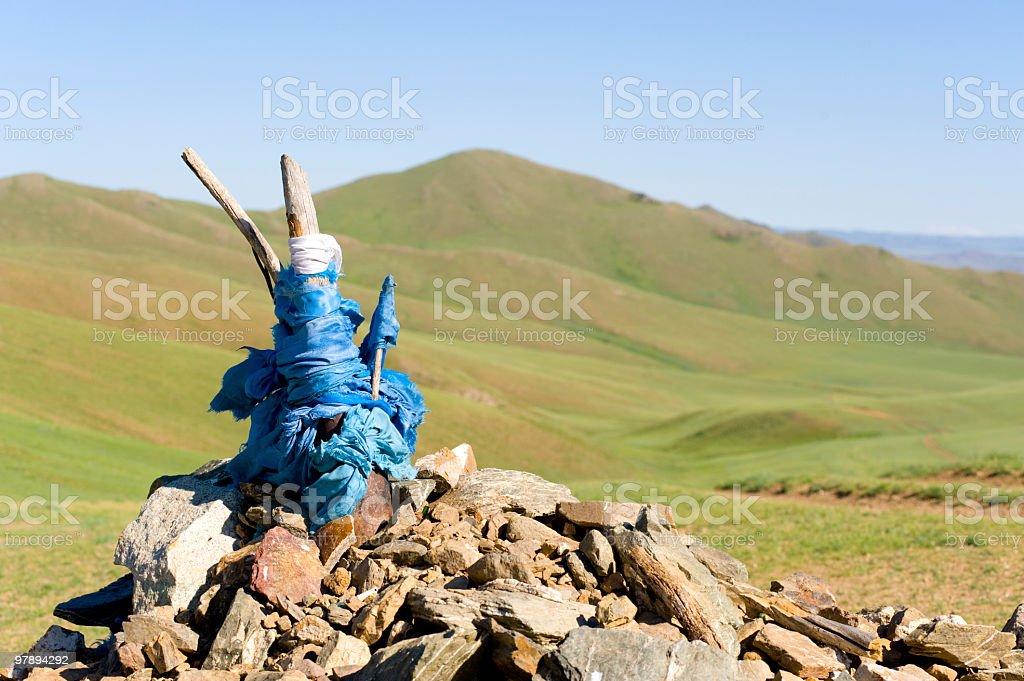 heathen praying mound royalty-free stock photo