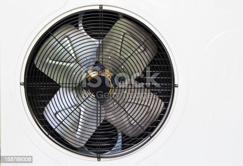 istock heating and AC unit used in a residential home 158769308