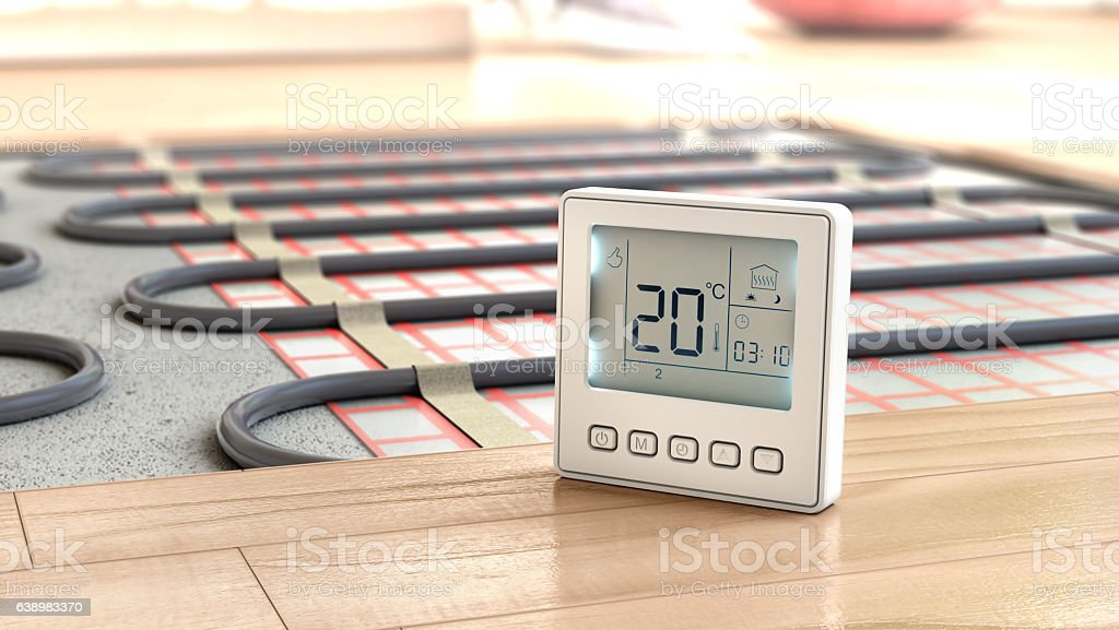 Heating concept. – Foto