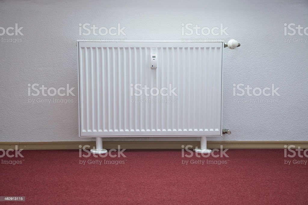 Heating Element and Radiator royalty-free stock photo