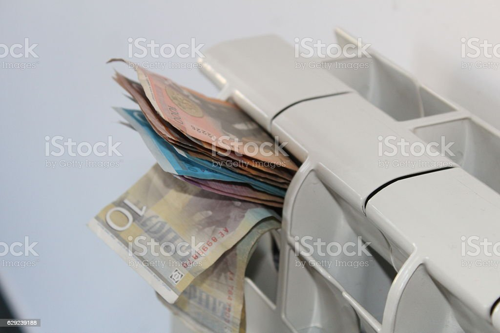 Heating issues stock photo