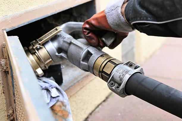 Heating oil is delivered – Foto