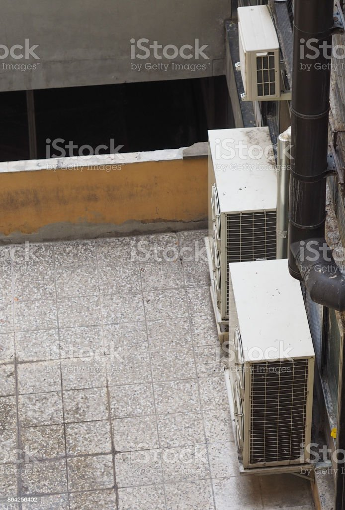 heating ventilation and air conditioning device royalty-free stock photo