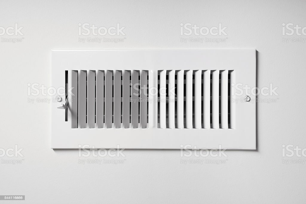 Heating/Cooling Vent stock photo