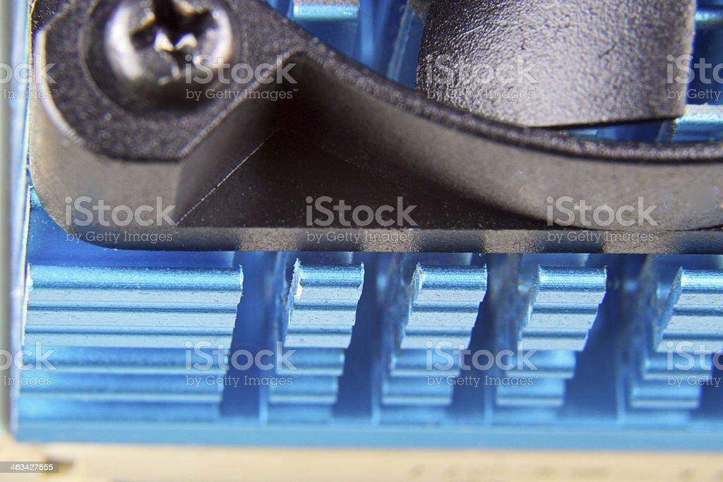 Heatsink stock photo
