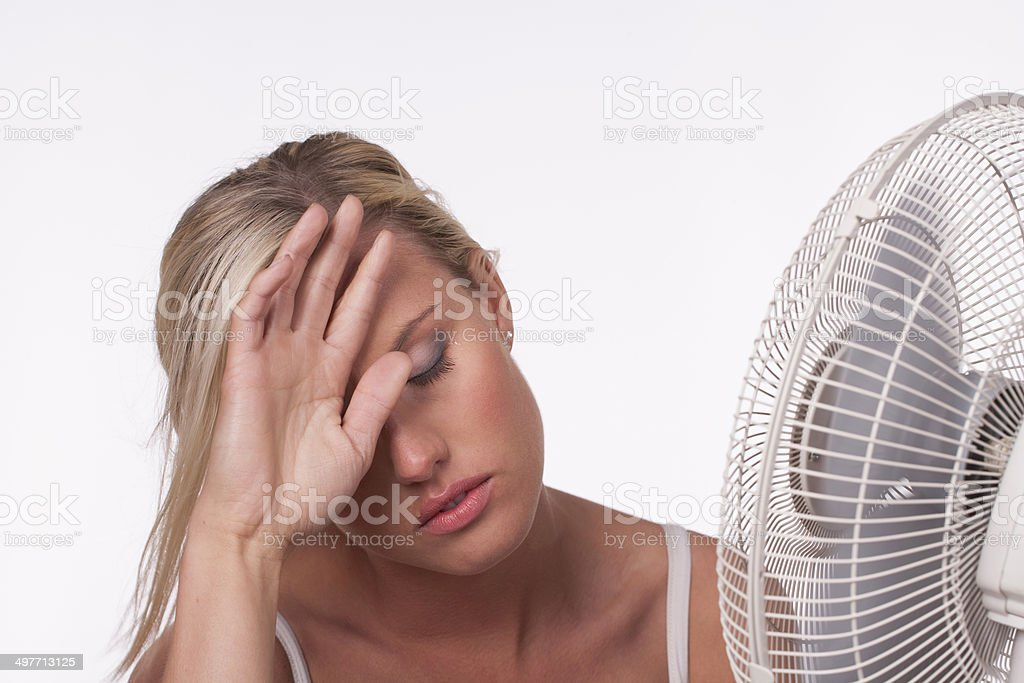 Heatwave stock photo