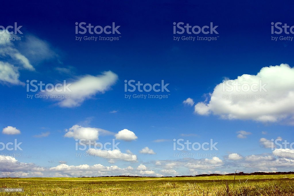 Heaven and Earth royalty-free stock photo