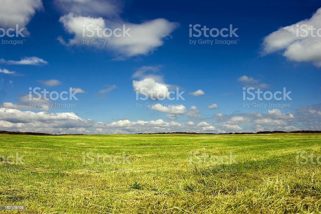 Heaven and Earth stock photo