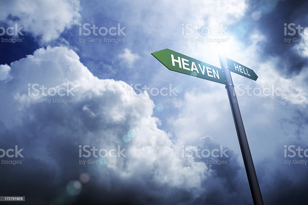 Heaven and Hell (XXL) royalty-free stock photo