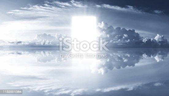 Heaven clouds background