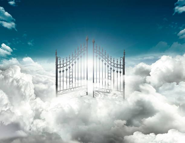 heaven gate - cennet stok fotoğraflar ve resimler