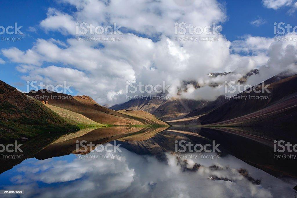 Heaven on earth stock photo