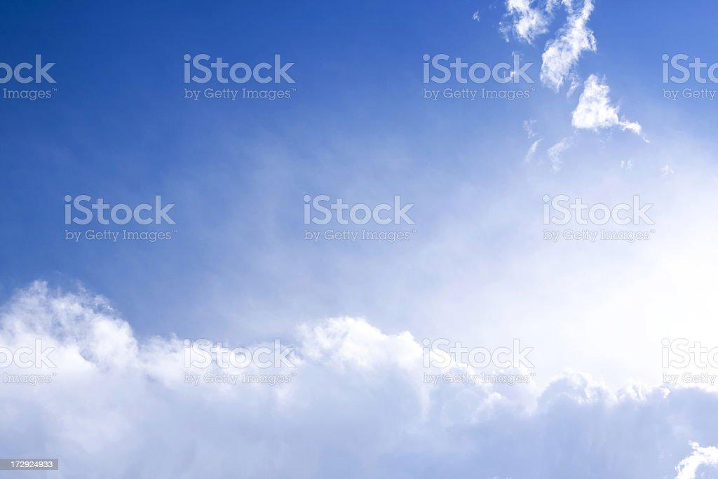Heaven Sky royalty-free stock photo