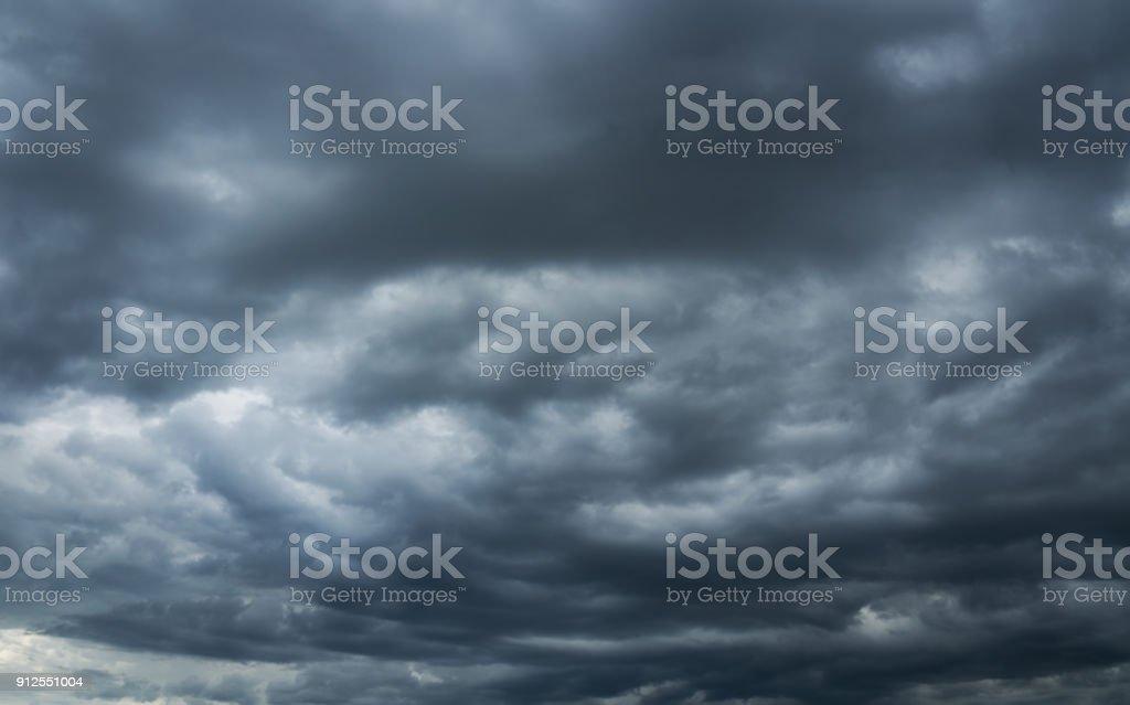 Heaven, storm overcast sky. stock photo