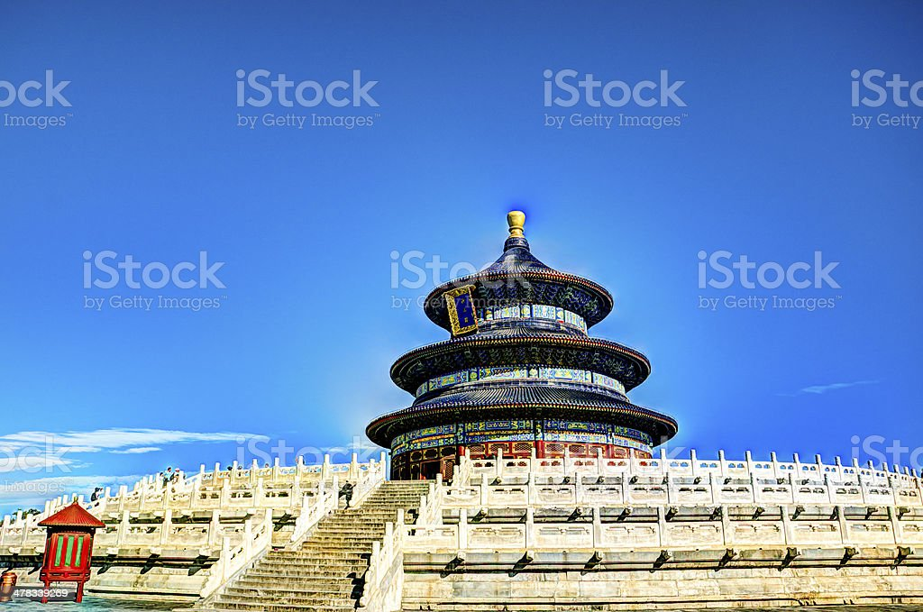 Heaven temple in beijing, china royalty-free stock photo