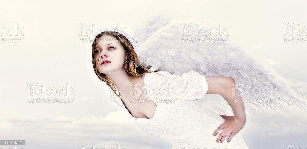 Heavenly Angel stock photo