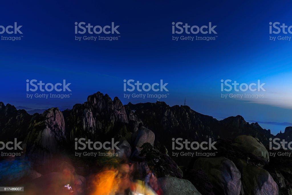 Heavenly Hauptstadt bei Nacht – Foto