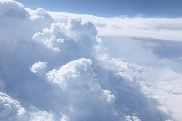 Heavenly Cloudscape stock photo