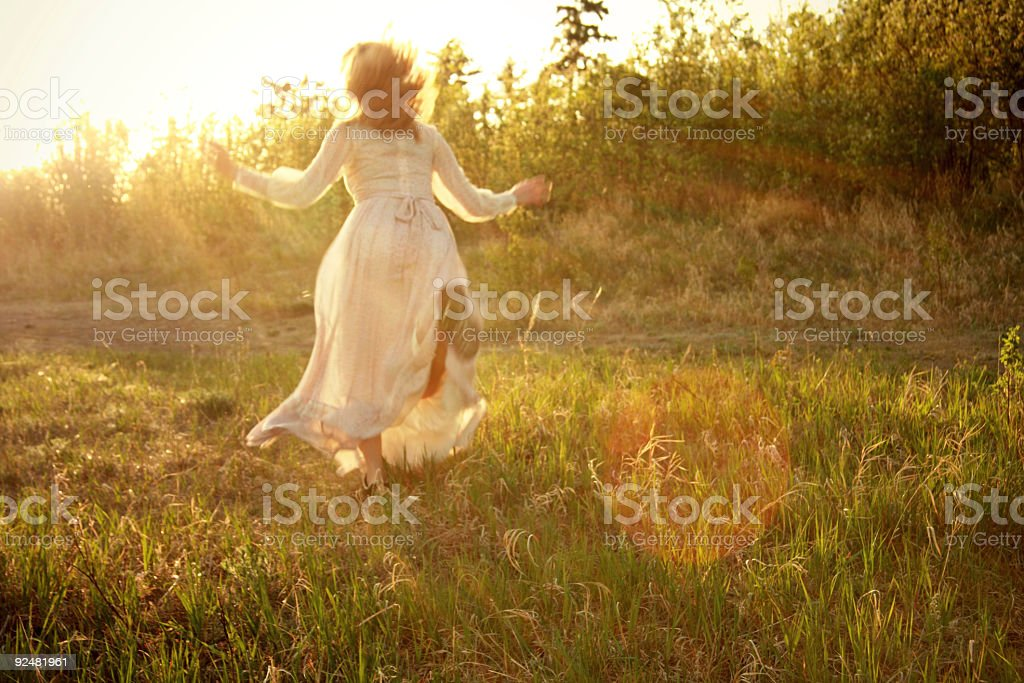 heavenly dance royalty-free stock photo
