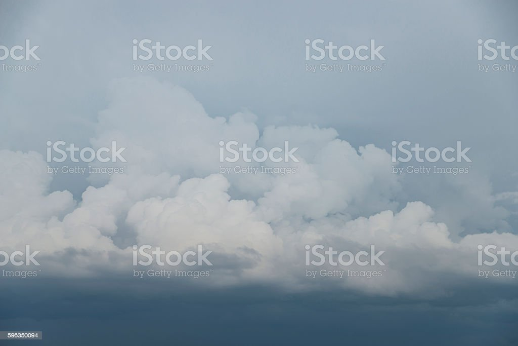 heavenly landscape with soft clouds royalty-free stock photo