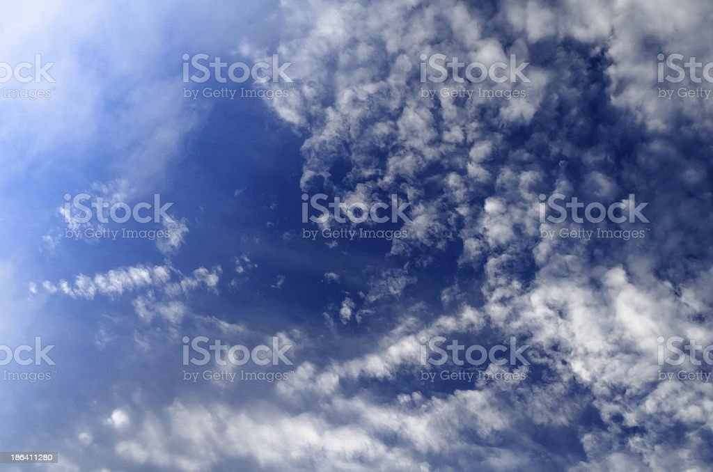 Heavenly late afternoon landscape royalty-free stock photo