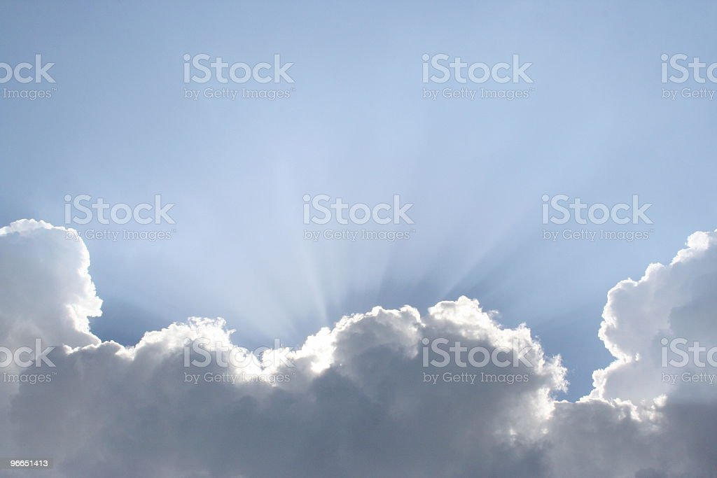 Heavenly Light stock photo