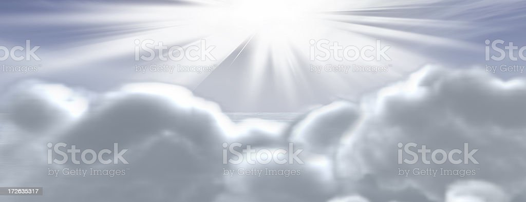 Heavenly royalty-free stock photo