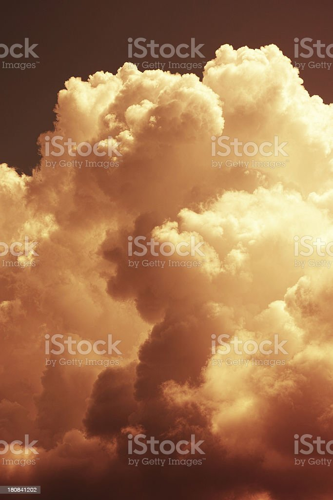 Heavenly Sky royalty-free stock photo